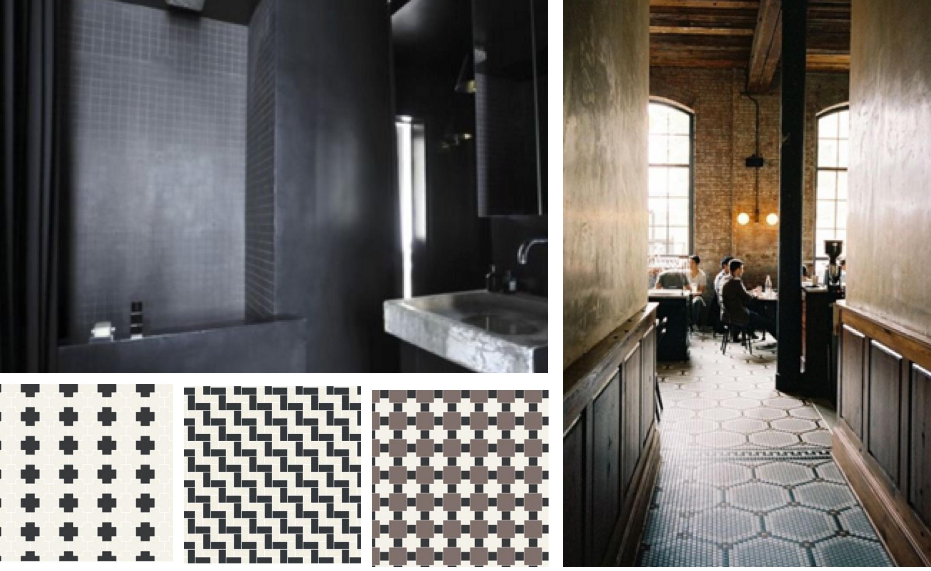 carrelage winckelmans black u white tiles victorian unglazed x tiles carrelage winckelmans x. Black Bedroom Furniture Sets. Home Design Ideas
